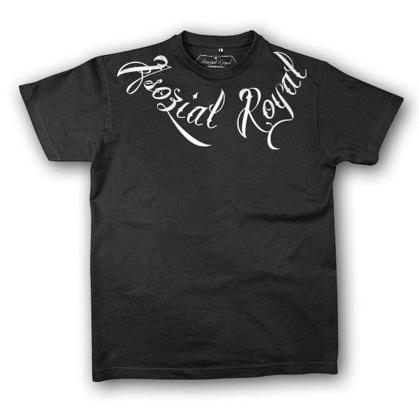 "T-Shirt Asozial Royal ""Chain"""