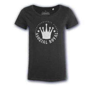 t-shirt-asozial-royal-ladies-24-7-black