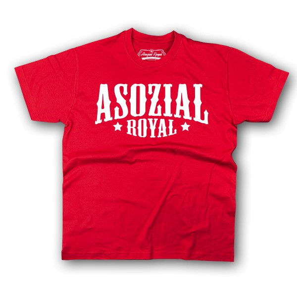 "T-Shirt Ladies Asozial Royal ""Promo"""
