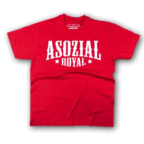 "T-Shirt Ladies Asozial Royal ""Promo"""