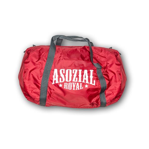 Trainingstasche Asozial Royal