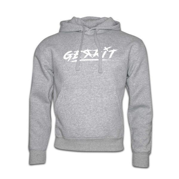 Hoodie-grau-Gerrit-logo