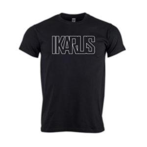 T-Shirt-Ikarus-kontur
