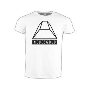 T-shirt-weiss-neues-gold-logo