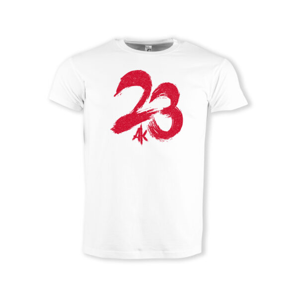 T-Shirt-weiss-AK-23-23-red